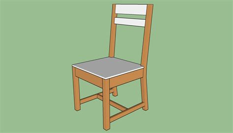 How to build a simple chair Image