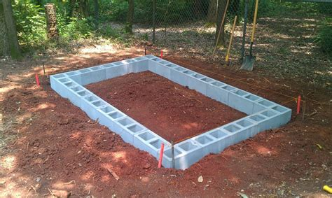 How to build a storage shed on concrete Image
