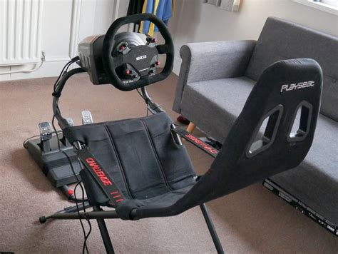 How to build a video game racing chair Image