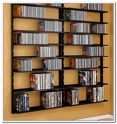 How to build a wall mounted dvd rack Image