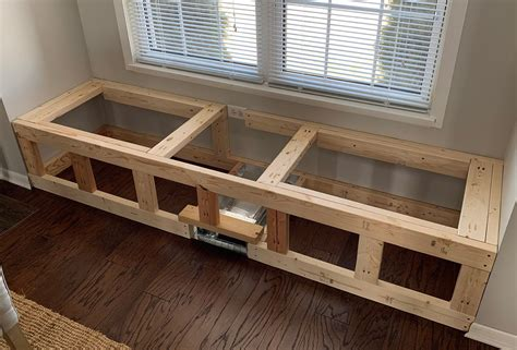 How to build a window bench Image