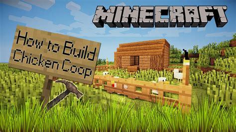 How to build chicken coop minecraft Image