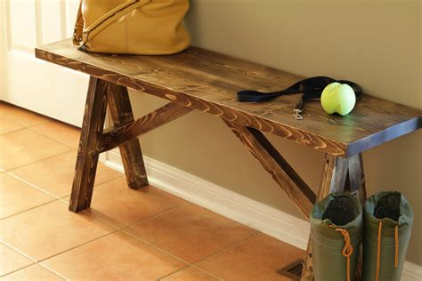 How to build entryway bench Image