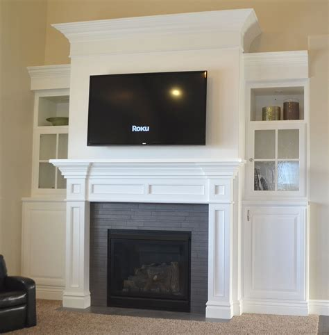 How to build fireplace mantels Image