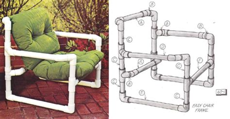 How to build furniture out of pvc Image