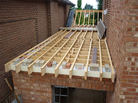 How to build garage flat roof Image