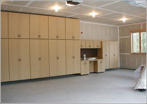 How to build garage shelving with doors Image