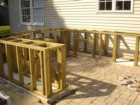 How to build outdoor bar Image