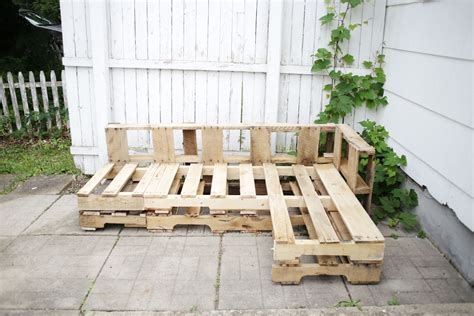 How to build outside furniture Image