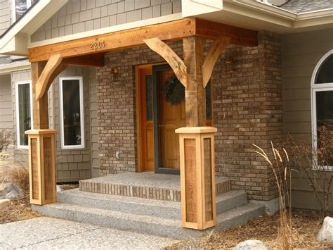 How to build porch columns Image