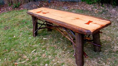 How to build rustic furniture Image