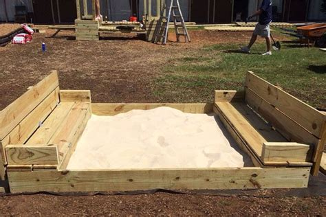 How to build sandbox with seats Image