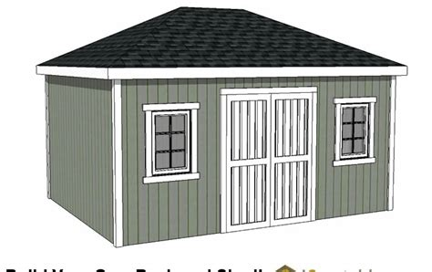 How to build storage shed 12 x 16 Image