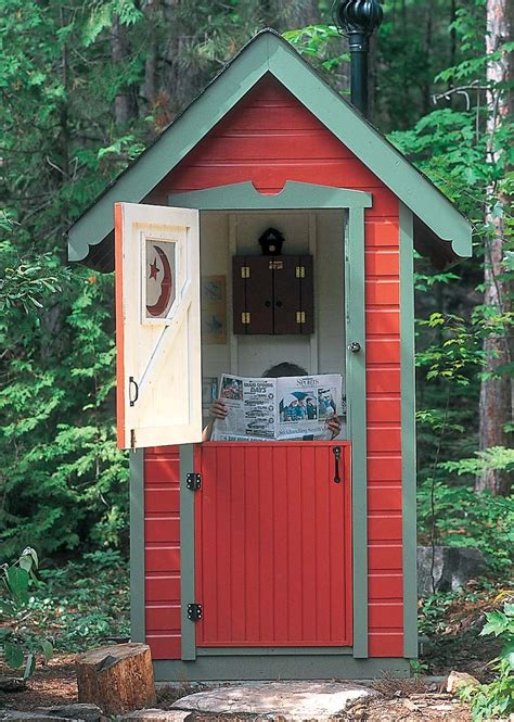 How to build the best outhouse Image