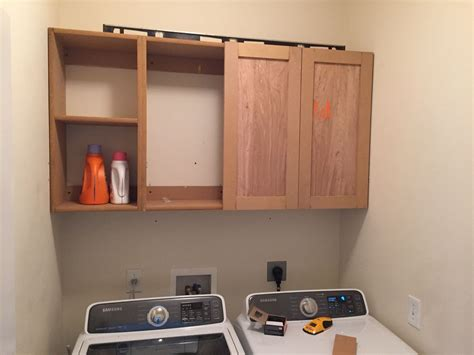 How to build upper garage cabinets Image