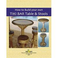 How to build your own tiki bar, tiki hut or tiki furniture discount