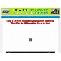 Buying how to buy owner financed homes audio, book and video package