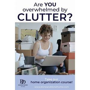Coupon for how to declutter your home in 3 days