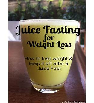 How To Do A Juice Fast To Lose Weight