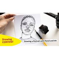 How to draw pencil portraits quickly and easily in 7 days! discount code