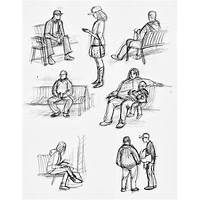 How to draw people figure drawing step by step technique
