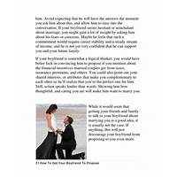 How to get my boyfriend to propose step by step