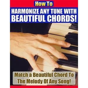 How to harmonize any tune using beautiful piano chords! tips