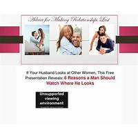 How to inspire your husband to stop looking at other women immediately
