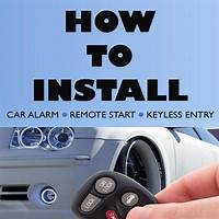 How to install a car alarm, remote start, or keyless entry system tips