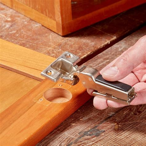 How to install european cabinet hinges Image