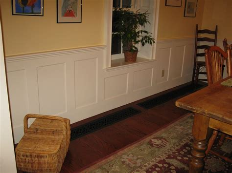 How to install raised wainscoting Image