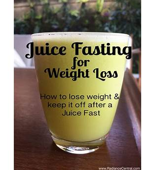 How To Juice Fast For Weight Loss