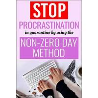 What is the best how to kill procrastination instantly?