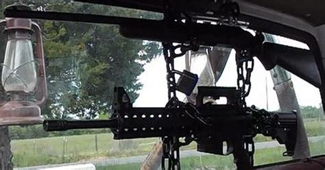 How to make a back window gun rack Image