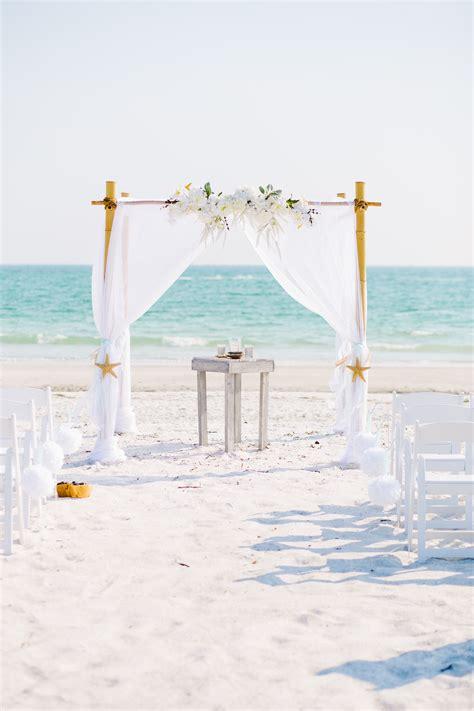 How to make a beach wedding arbor Image