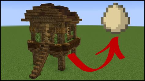How to make a chicken coop on minecraft Image