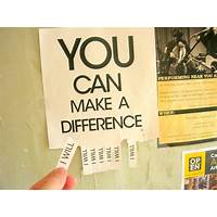 Buying how to make a difference