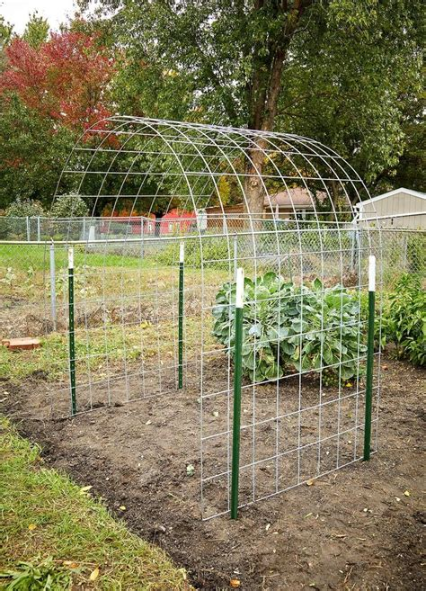 How to make a garden arbor Image