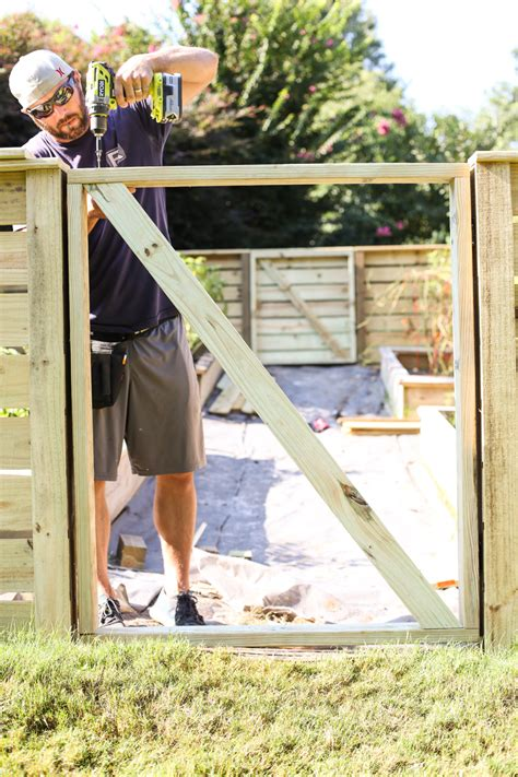 How to make a garden gate Image