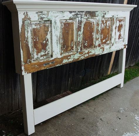 How to make a king headboard out of a door Image