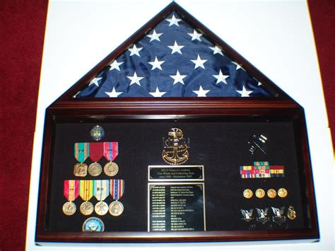 How to make a military shadow box retirement shadow boxes Image