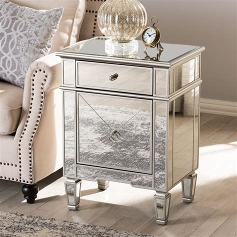 How to make a mirrored nightstand Image