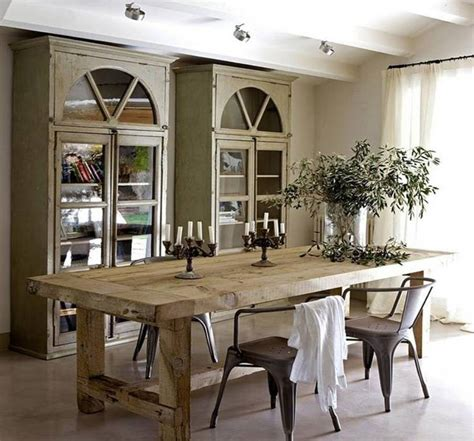 How to make a rustic dining room table Image