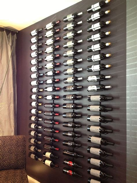 How to make a wall wine rack Image