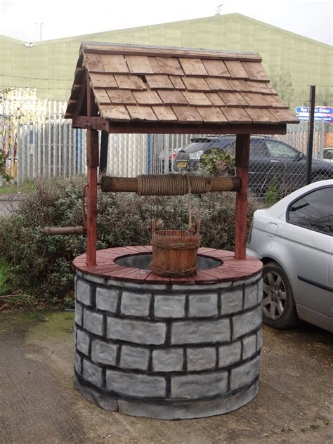 How to make a wishing well prop Image
