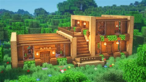 How to make a wooden house in minecraft Image