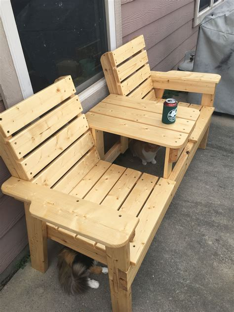 ?how to make a wooden lawn chair Image