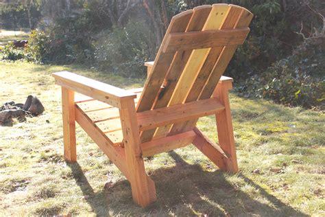 How to make adirondack chairs Image