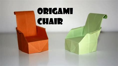 How to make chair using paper Image