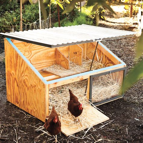 How to make chicken coop small Image